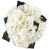 Fairy Season Ramo de flores de hortensias artificiales para decoración