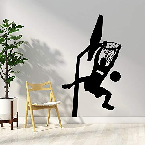 Tianpengyuanshuai Dunk Basketball Wandaufkleber Home Decoration Wohnzimmer Kinderzimmer Dekoration Aufkleber Vinyl Wallpaper 33X38cm