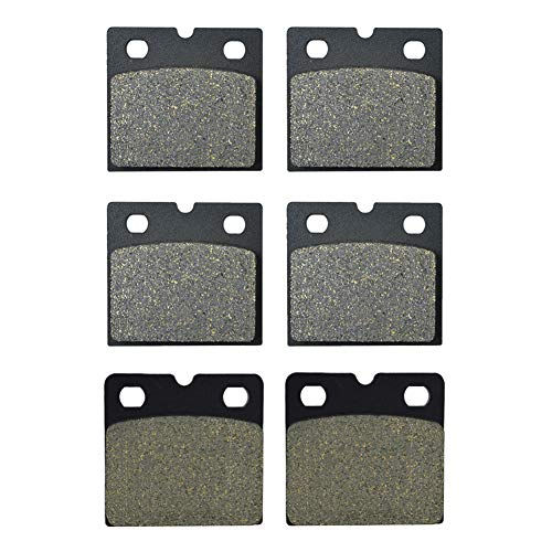 Compatible para pastillas de freno delantero de motocicleta K75/75-S 08/1990-1996 /K75 RT 1989-1996 /K75 S 09/1988-1995 / K100/2 09/1988-1990