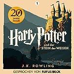 Harry Potter und der Stein der Weisen - Gesprochen von Rufus Beck Titelbild