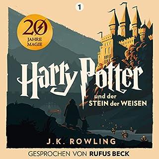 Couverture de Harry Potter und der Stein der Weisen - Gesprochen von Rufus Beck