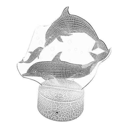 Lámpara de Ilusión de Luz Nocturna 3D para Decoración de Vacaciones