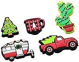 Crocs Decorazione Scarpe 5 Pezzi | Personalizza con Jibbitz Unisex, Holiday, One-Size...
