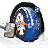 atliprime Fabric Snow Chain Textile tire Chains SUV Snow Sock for SUV/4X4/Light Truck (KD448)