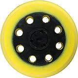 Leman 8017010 - Almohadillas de velcro para lijadoras excéntricas ø 8, 1 agujero de ø 125 mm