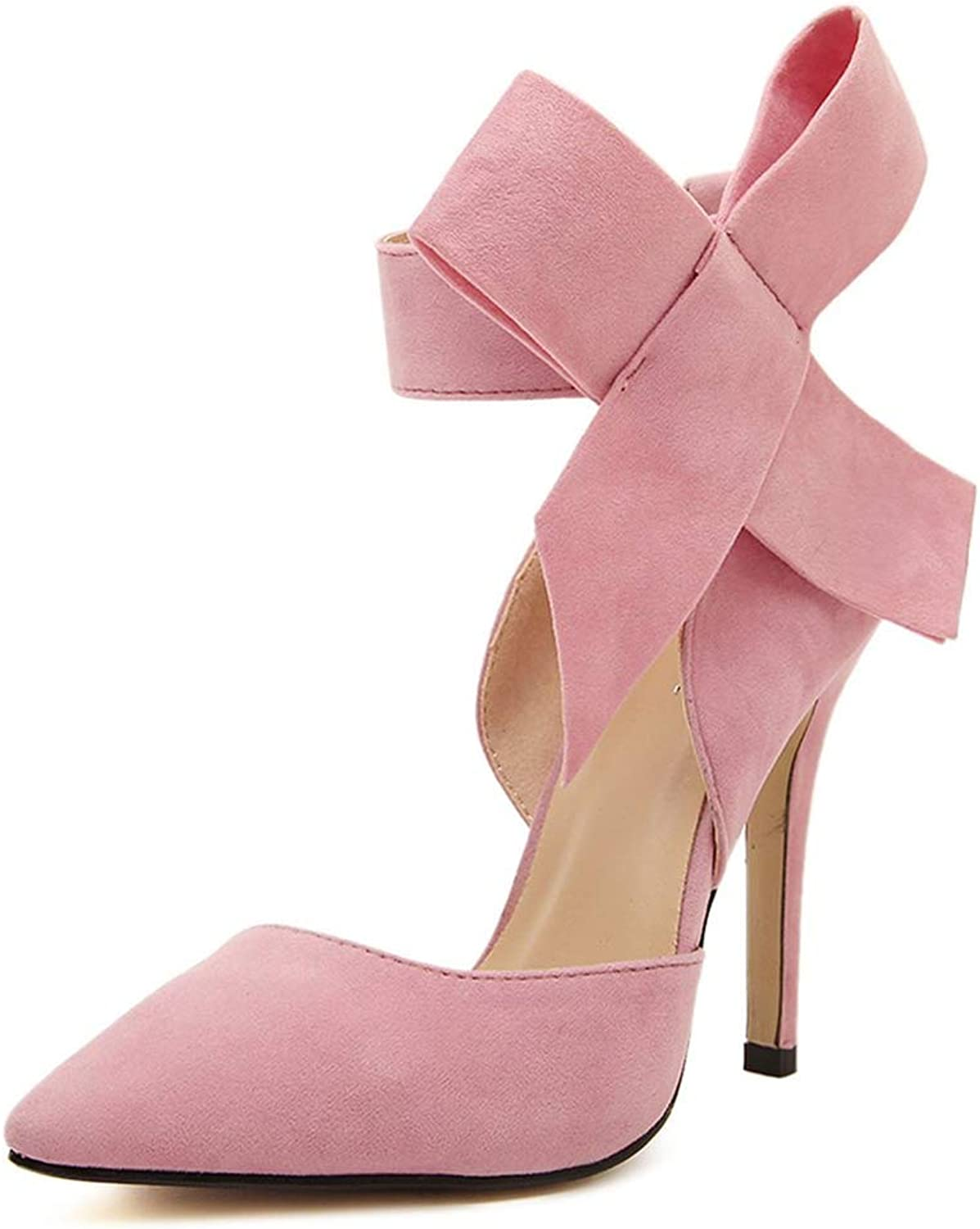 SUNNY Store Women's Vintage Retro Ankle Strappy Buckle Dress High Heels