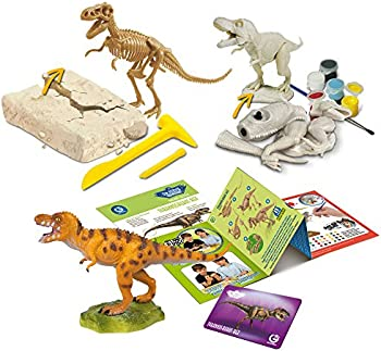 Uncle Milton Hunters-Dig, Build, Paint, Play, Scientific Educational Toy