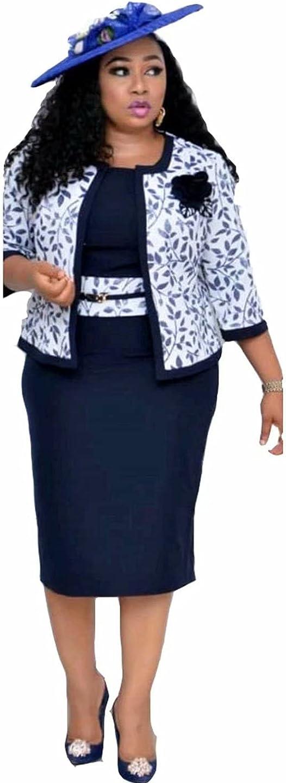 Plawden Women Plus Size Mother of The Bride Dress Two Piece Work Suit