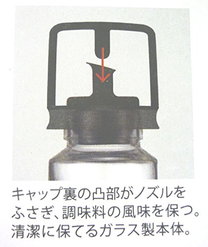 アスベルキャップ付オイルボトル大「フォルマHG」2153クリア