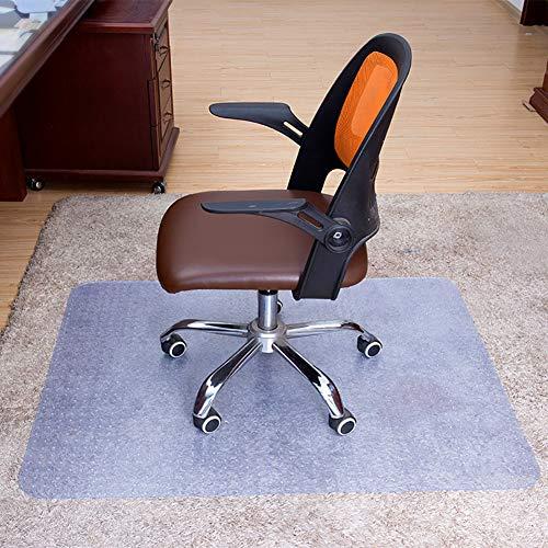 Fayeille Stuhlmatte für Teppiche, Bürostuhl-Matte für Teppichböden, transparenter Bodenschutz für Büro und Zuhause, 430 x 600 x 1,5 mm, nicht null, Wie abgebildet, 430*600*1.5mm