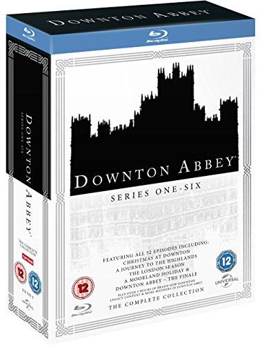 Downton Abbey Komplettbox: Season 1-6 mit allen Specials - in Englisch ohne deutsche Sprachfassung