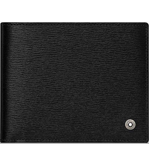 Montblanc Monedero 4810 Westside 12 x 1 x 9,5 cm, Negro, 12 x 1 x 9,5 cm