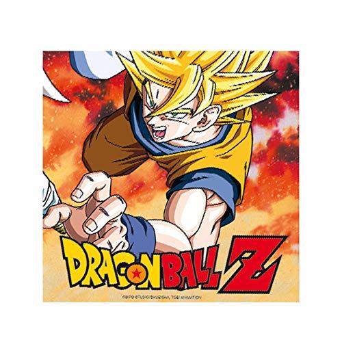 Comogiochi - Serviette de table 33 x 33 cm Dragon Ball Z, multicolore, 5CG82009