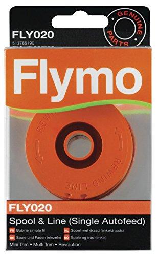 Flymo FLY020 Single Line Autofeed Spool and Line - Orange