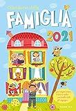 Calendario della famiglia 2021 da parete (26,5 x 38,5)