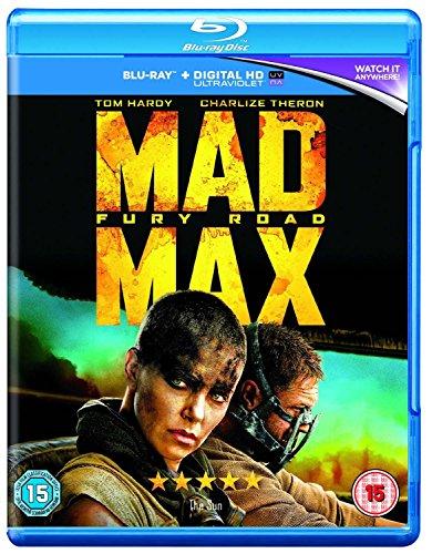 Mad Max: Fury Road [Blu-ray] [2015] [Region Free] UK-Import, Sprache: Englisch.