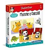 Clementoni- Baby Mamme e Cuccioli Gioco educativo, Multicolore, 11969