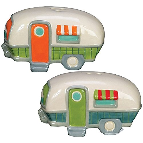 Product Image 4: 18th Street Gifts Happy Camper Dish Towels and Salt Pepper Set, 4 Piece Set of Camping Decor for RV