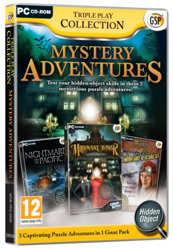 Triple Play Collection - Mystery Adventures (PC DVD)