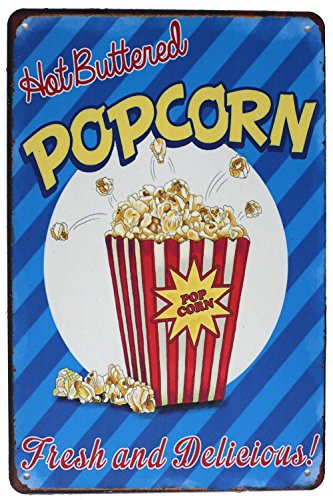 vintage popcorn sign - 3