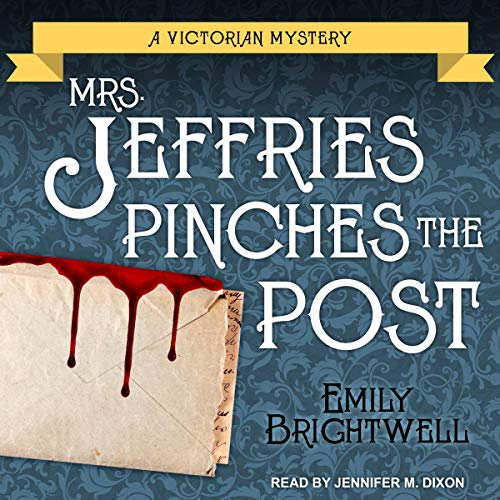Mrs. Jeffries Pinches the Post audiobook cover art