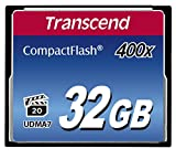 Transcend 400倍速CFカード 32GB TS32GCF400 [並行輸入品]