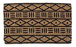 "small Entrance mud, completely natural hand-stencil coconut, coconut carpet 18 ""x 30"" x 0.75 ""… (18 ″…"