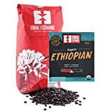 Equal Exchange Organic Coffee Ethiopian Bulk Whole Bean Single Origins 5 lb.