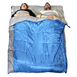 Redstone XL Double Sleeping Bag 400GSM Converts into 2 Singles (Double)