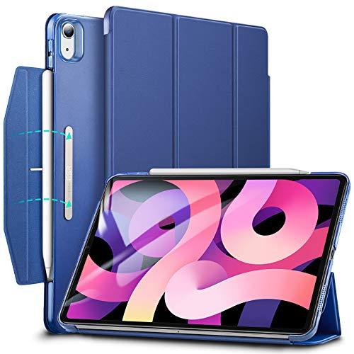 ESR Cover Trifold Compatibile con iPad Air 4 (2020) 10.9  [Custodia Smart Trifold] [Custodia con Supporto e Chiusura] Serie Ascend - Blu