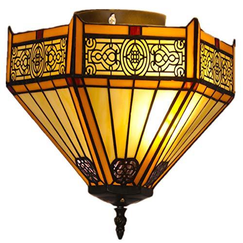 ZDHG klassieke Tiffany plafondlamp, Arabische stijl lampenkap, prachtige hoofddecoratie, in de slaapkamer gebruikt ruimte keuken veranda bar hanglamp (diameter: 30 cm)