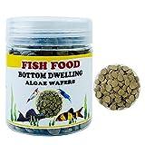 Fondo de Pescado de Fondo Tropical Feed benthic para la alimentación de camarones Tortuga Tortuga Tortuga Sucker Aquarium Fish Tanque Alimentador Bagre Skfish (Color : Color Caffe)