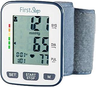 First Step For Wellness-Wrist Blood Pressure Monitor-bp, Heart Rate, Digital