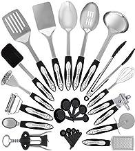 Home Hero Stainless Steel Kitchen Cooking Utensils - 25 Piece Kitchen Utensil Set - Nonstick Kitchen Utensils Cookware Set...