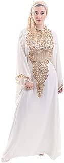 Queen of Sheeba Kaftan for Women Chiffon Maxi Dress