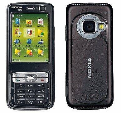 Nokia N73 black UMTS Vodafone