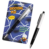 Coxeer エイプリルフールの3ピースジョークおもちゃ電気ショックボールペンいたずらジョークトリックおもちゃプロップ