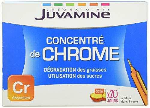 Juvamine Concentre de Chrome 20 Ampoules
