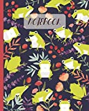 Notebook: Cute Frogs Cartoon Cover (Volume 3) - Lined Notebook, Diary, Track, Log & Journal - Gift...