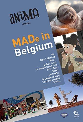 MADe in Belgium Short Animation ( Mia / Papiers d'Arménie / Beast! / Le bruit du gris / Betty's Blues / Totems / Het paradijs / De longues vacances / Tranche de [ Französische Import ]