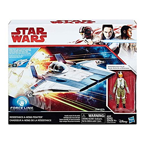 Star Wars Episodio VIII Resistance A-Wing Fighter (Hasbro C1249)
