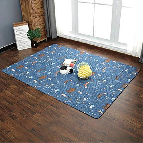 RSZHHL tapijt, modern, vochtbestendig, voor woonkamer, tafel, tatami-deken, voor baby's, slaapkamer, nachtkleed 120cm x210cm 6