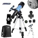 Aomekie Telescopio Astronómico 70/400 Telescopios...