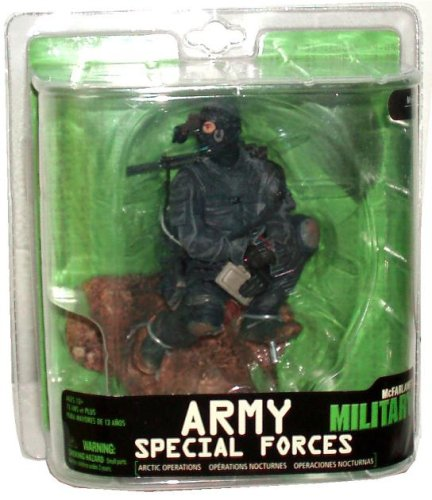 McFarlane Military Series 7 6' Figure:Army Special Forces Night Ops