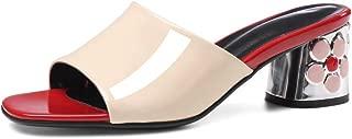 Nine Seven Women's Leather Opentoe Heel Slide