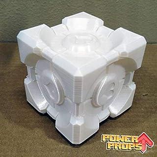 Portal Companion Cube Cosplay Roleplaying RP Orange Box Portal 2 Cosplay