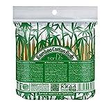 Brotes de algodón de bambú 100% biodegradables, 100 unidades
