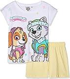 Paw-Patrol Pijama corto para niña Blanco 2 104 cm