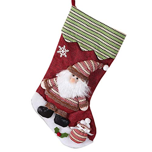Demarkt kerstkous kerstkous decoratie open haard Christmas Stocking