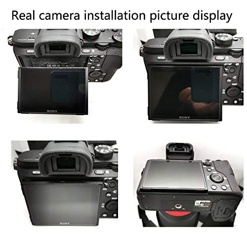 Crystal-Clear Hard-Coated 2X BROTECT HD-Clear Screen Protector for Canon EOS 200D Dirt-Repellent